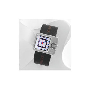 Photo of K Swiss Black Strap Over Size Side Button Watch Watches Man