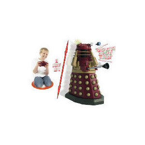"""Photo of Dr Who Red 18"""" Radio Control Dalek Toy"""