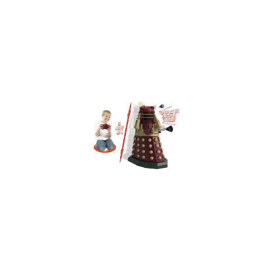 "Dr Who Red 18"" Radio Control Dalek"