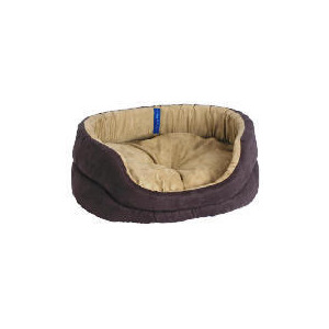 Photo of Oval Faux Suede Bed 60CM Home Miscellaneou