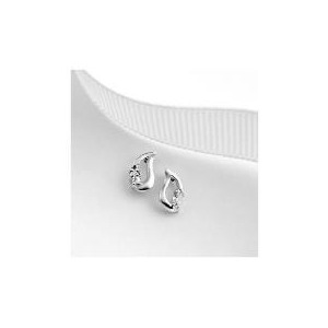 Photo of 9CT White Gold Cubic Zirconia Studs Jewellery Woman