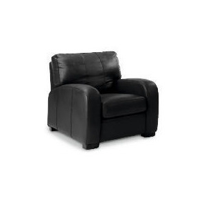 Photo of Memphis Leather Armchair, Black Furniture