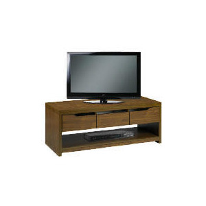 Photo of Seattle 3 Drawer Coffee/Media Unit, Walnut Effect Furniture