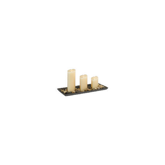 Tesco Rectangular Candle Garden