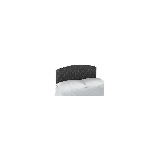 Chatsworth Damask Double Headboard - Black