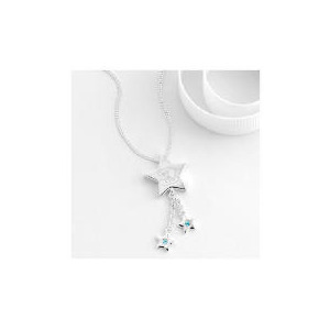 Photo of Me To YOU Sterling Silver Star Drop Pendant Jewellery Woman