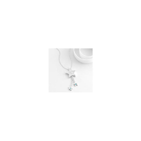 Me to You Sterling silver star drop pendant