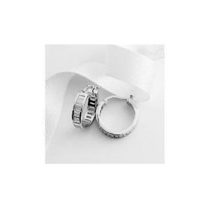 Photo of Sterlling Silver Cubic Zirconia Hoops Jewellery Woman