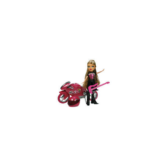 Bratz Really Rocks Motorbike & Fianna - Exclusive To Tesco