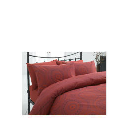Tesco New Moroccan Double Duvet Set, Red Reviews