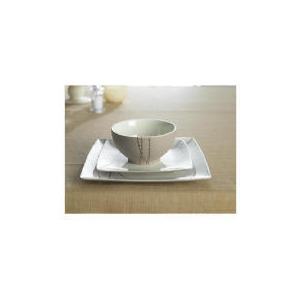 Photo of Tesco Trail Square Dinner Set 12 Piece Dinnerware