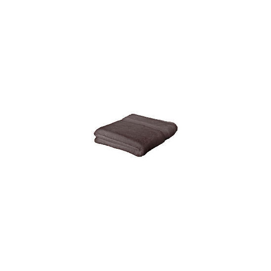 Finest hygro cotton bath sheet Smokey Brown