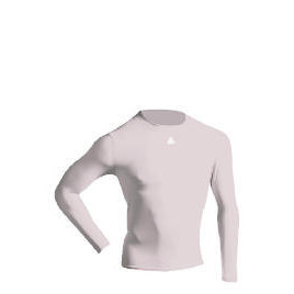 Long Sleeve Bodyshirt Mock Neck (WHITE youth large) Reviews