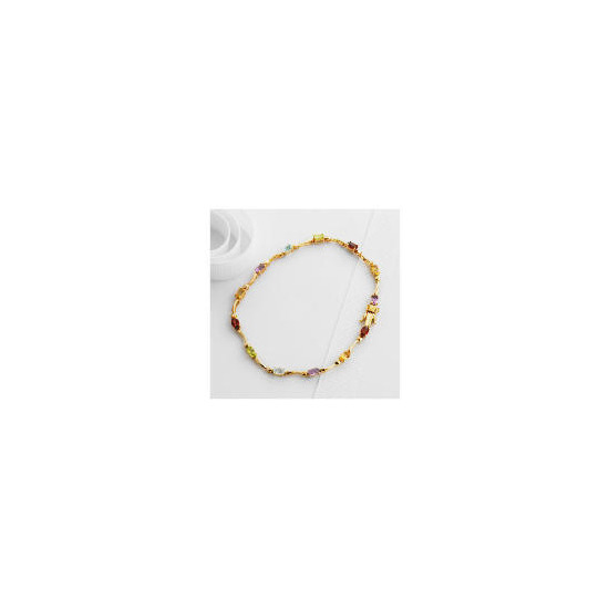 9ct Gold Semi Precious Bracelet