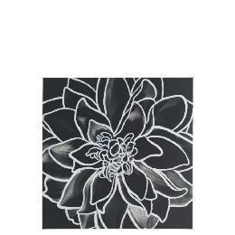 Monochrome Flower Canvas 50X50cm Reviews