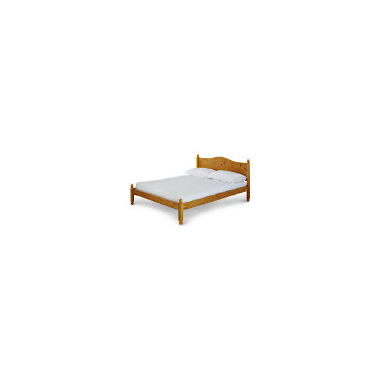 Vermont King Bed, Antique Pine