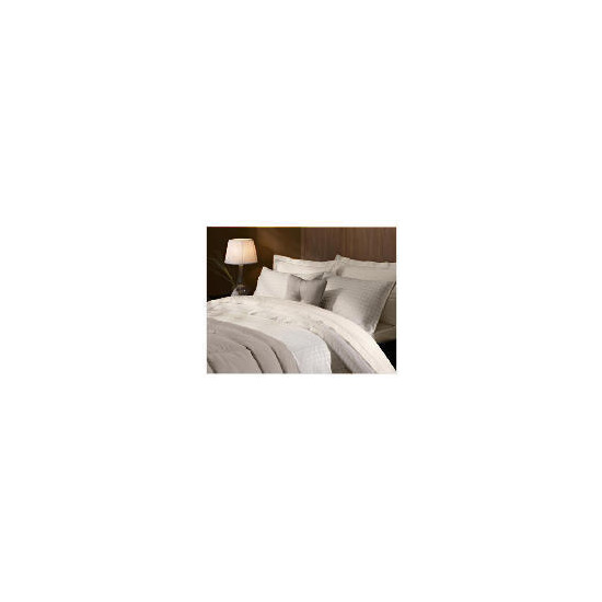 Hotel 5* Duvet Jaquard Check Set Double Beige