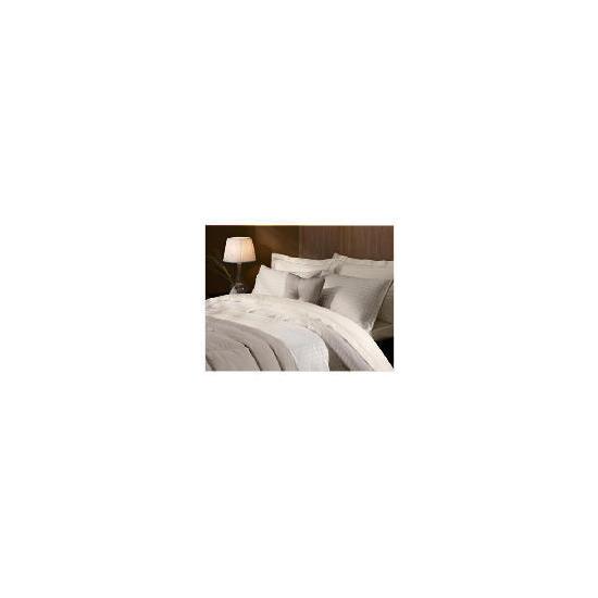 Hotel 5* Duvet Jaquard Check Set Double Beige