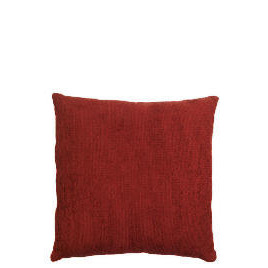 Tesco Large Chenille Cushion , Berry Reviews