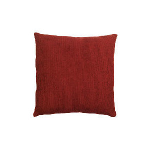 Photo of Tesco Large Chenille Cushion , Berry Cushions and Throw