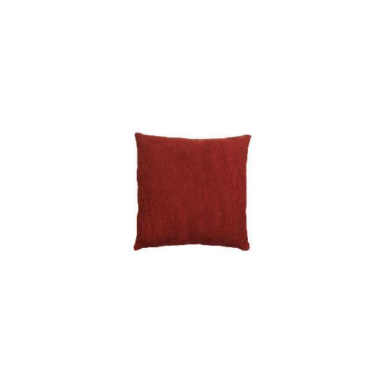 Tesco Large Chenille Cushion , Berry