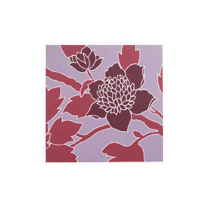 Photo of Floral Fabric Print 50X50CM Home Miscellaneou