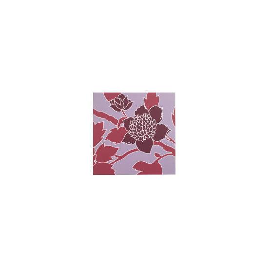 Floral Fabric Print 50X50cm