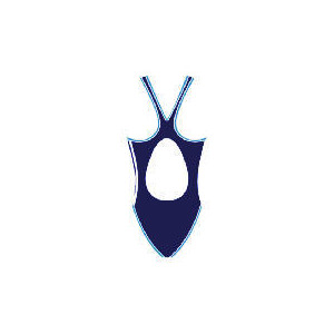 "Photo of Speedo Womans Pulseback Swimsuit (Navy) Size 34"" Swimwear"