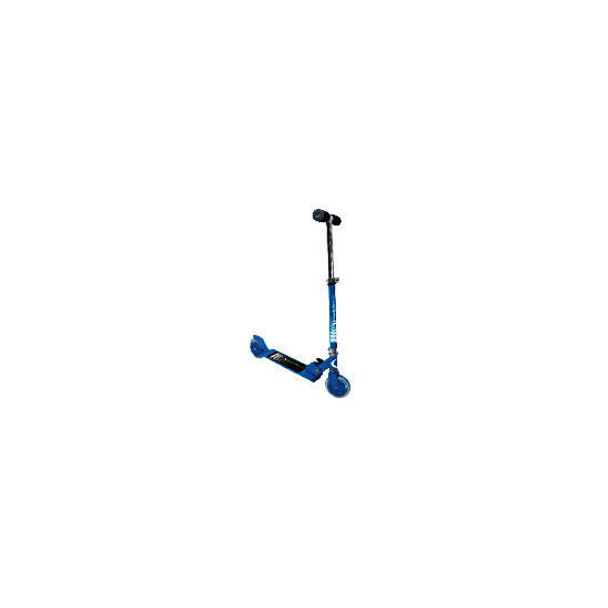Activequipment Folding Scooter BLUE