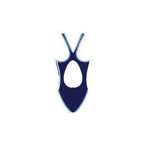 "Photo of Speedo Womans Pulseback Swimsuit (Navy) Size 28"" Swimwear"