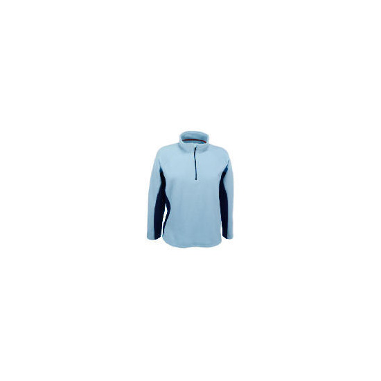 Elevation Snow Navy Fleece Size 8