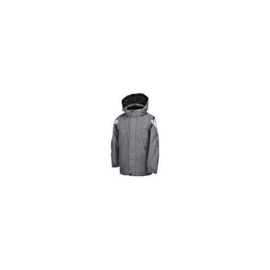 Elevation Snow Grey Ski Jacket 3-4 years