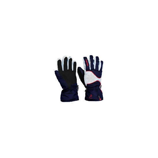 Elevation Snow Blue Ski Gloves Medium