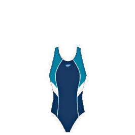 """Speedo Womans Rush one piece swimsuit (Thunder Blue) Size 32"""" Reviews"""