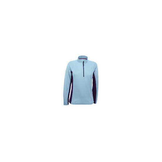 Elevation Snow Blue Thermal Top Size 10