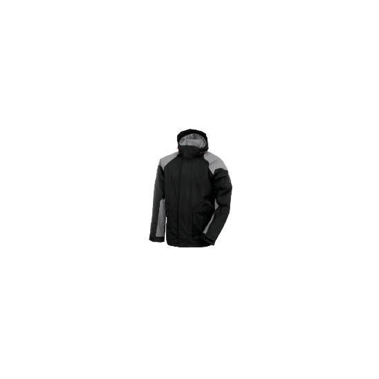 Elevation Snow Grey Ski Jacket Size L