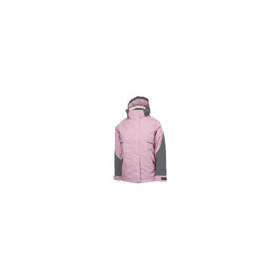 Elevation Snow Pink Ski Jacket 9-10 years