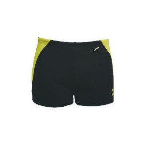 "Photo of Speedo Mens Propel Shorts  (Black/ Acadia/ Union) Size 38"" Swimwear"