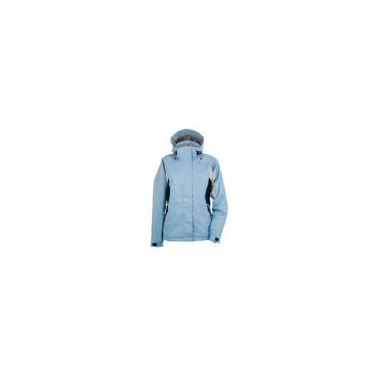 Elevation Snow Blue Ski Jacket Size 18