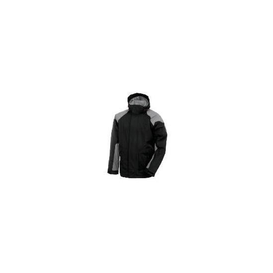 Elevation Snow Grey Ski Jacket Size M
