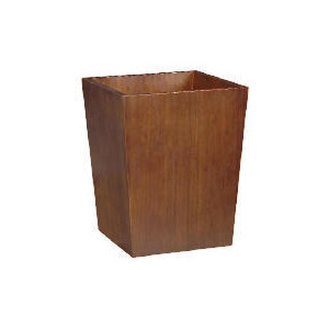 Photo of Tesco Bamboo Bin Dark Finish Bin