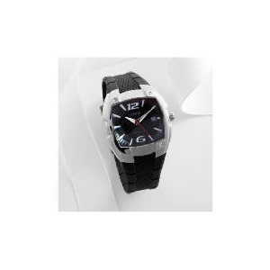 Photo of Lorus Mens Dial Date Black Resin Strap 100M Watches Man