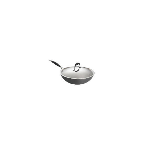 Go Cook Wok 30cm with Lid