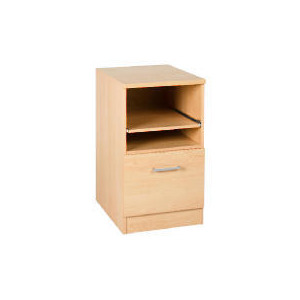 Photo of Beech Modular Filing Cabinet With Pull Out Shelf Furniture