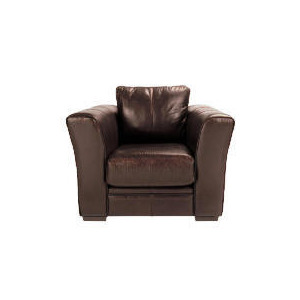 Photo of Newport Leather Armchair, Chestnut Furniture