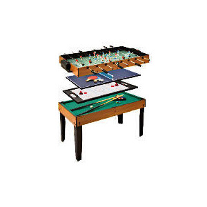 Photo of Tesco 4 In 1 Games Table Pool Table