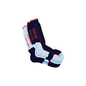 Photo of Blue 2PK Technical Socks Sock