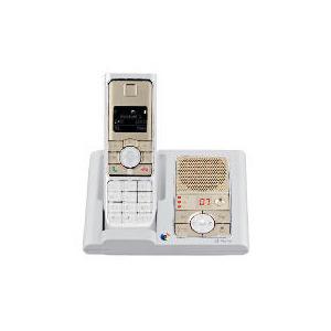 Photo of BT Verve 450 Single White and Metallic Sandstone- Exclusive To Tesco Landline Phone