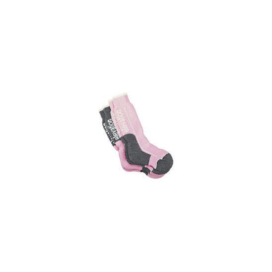 Pink 2pk Technical Socks