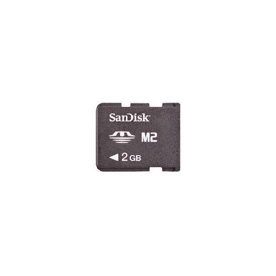 SanDisk M2 2GB Memory card